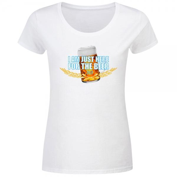 T-Shirt Frauen here for beer