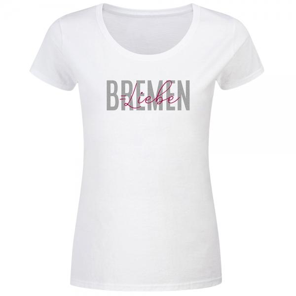 T-Shirt Frauen Bremen Liebe