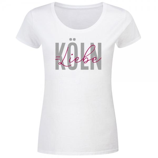 T-Shirt Frauen Köln Liebe