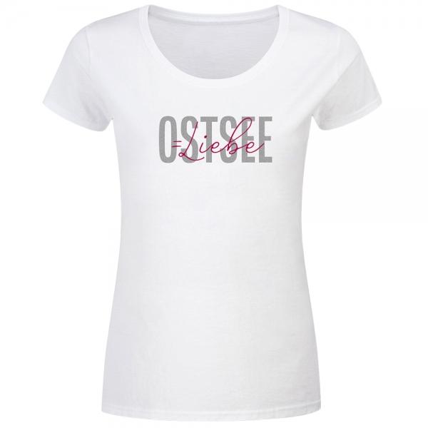 T-Shirt Frauen Ostsee Liebe
