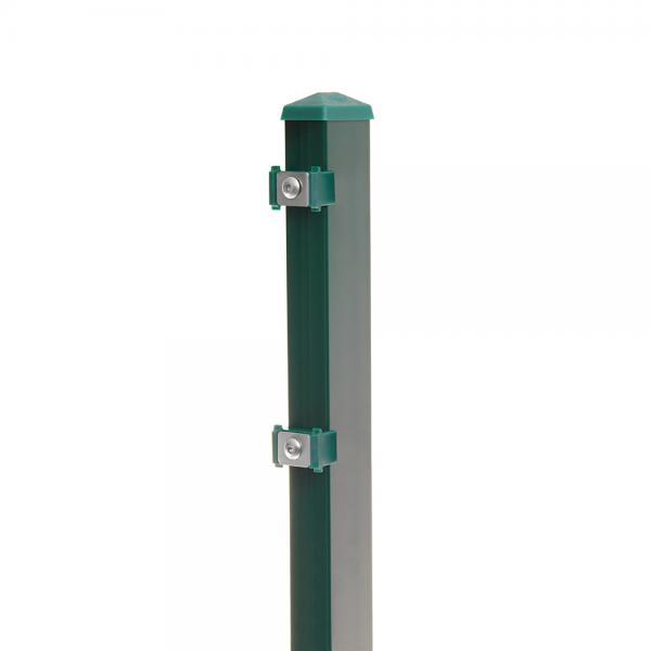 Zaunpfosten Typ 6 moosgrün RAL 6005 | 1230  | Standard