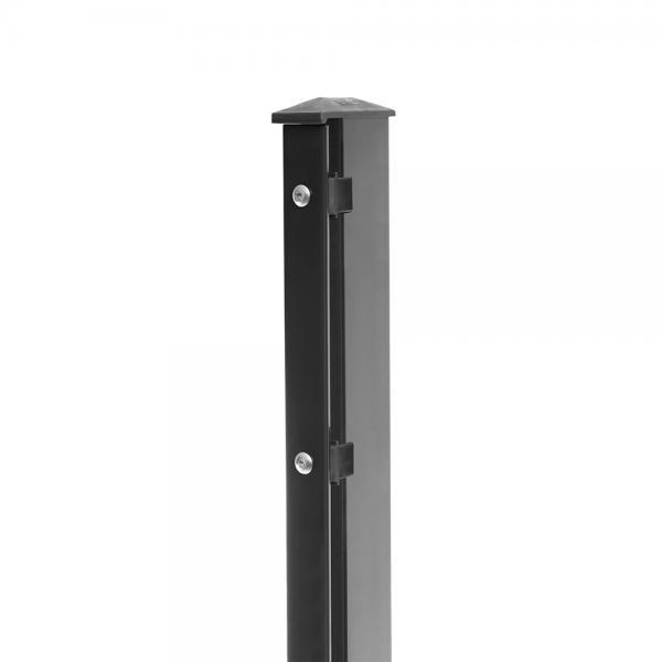 Zaunpfosten Typ 1 anthrazit RAL 7016 | 1630 | Standard