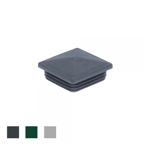 Pfostenkappe 80x80 Kunststoff