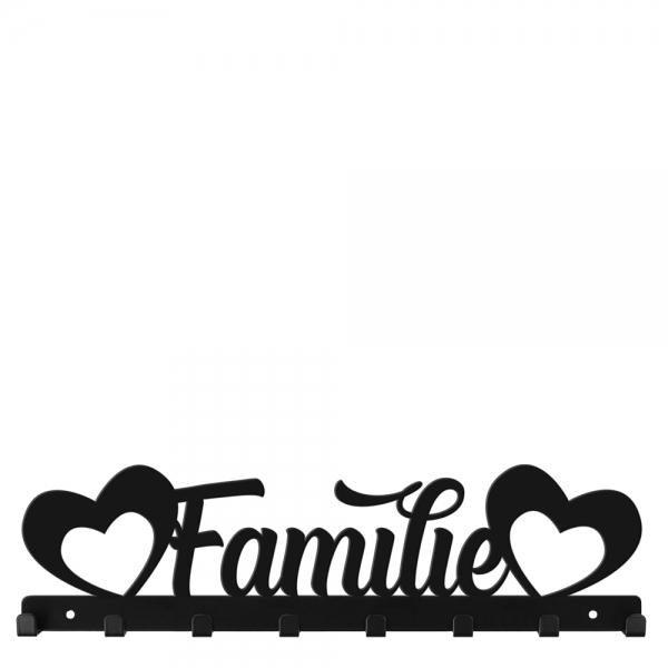 Familie mit Herz Garderobe