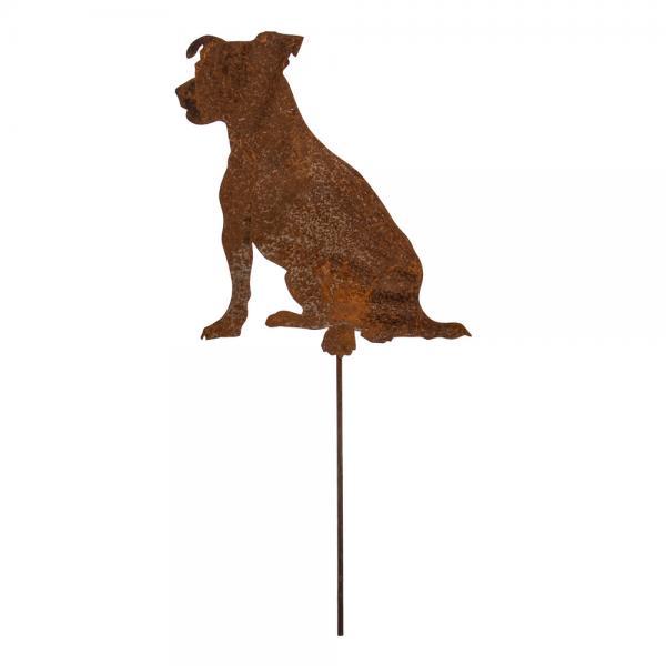 Gartenstecker Hund