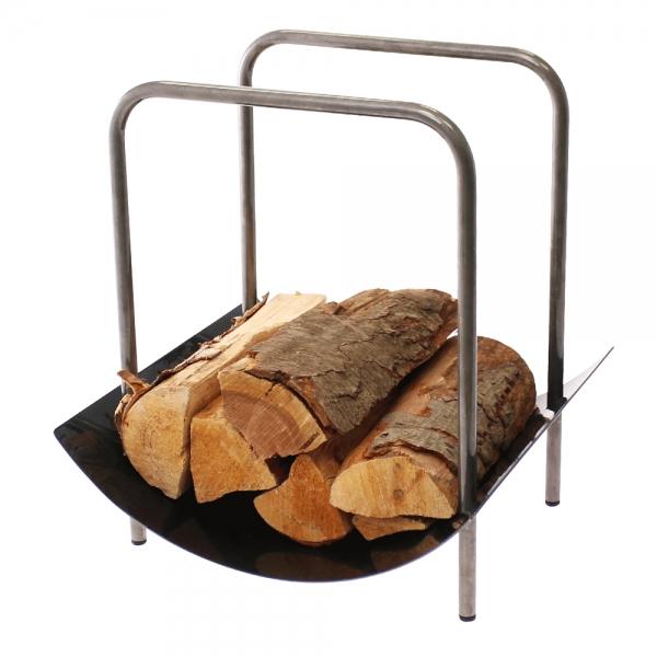 Holzlege für Kaminholz Typ Roco