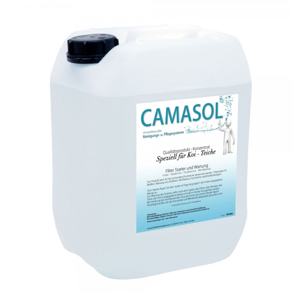 Camasol biologischer Filterstarter für Koi-Teichanlagen 10L